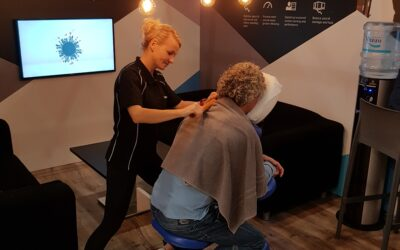 Chair massages especially for companies