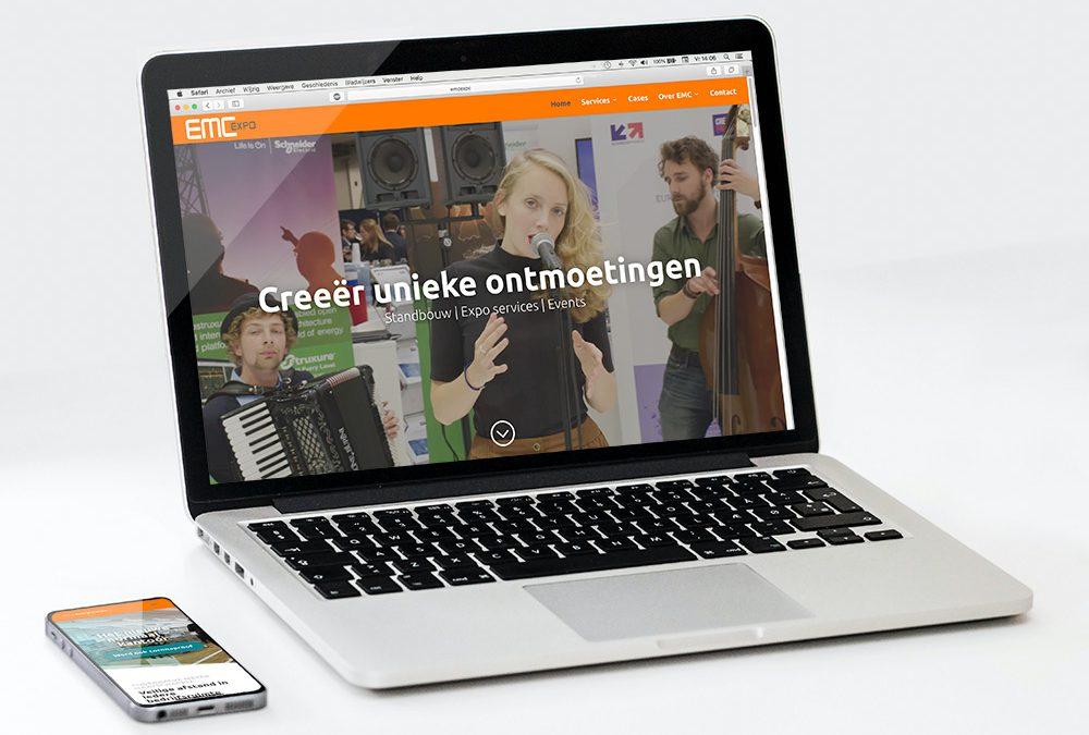Nieuwe website EMC